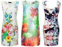 Sommerkleider lang, knielang & kurz – schöne bunte & luftige Kleider