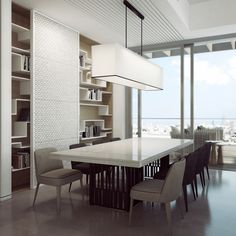 Black And White Mix In Luxurious Penthouse by Ando Studio DesignRulz.com