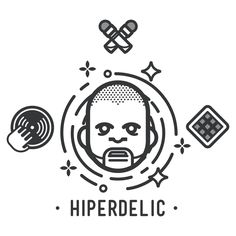 Hiperdelic logo icon