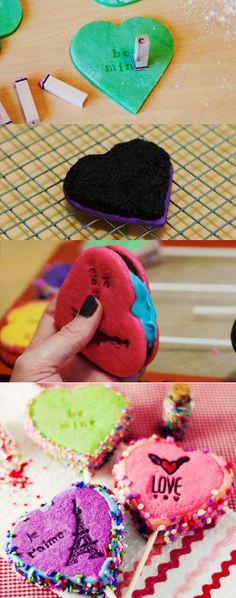 DIY Heart Shaped Valentine Cake Pops, 2014 Valentine's Day Cookie Cake Pops