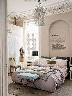 Living etc. magazine- neutral and serene color combo.