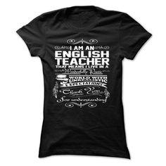 Best English Teacher Shirt