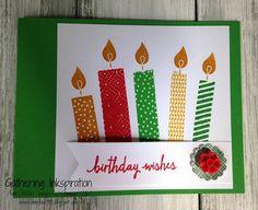 Gathering Inkspiration: Build a Birthday Card