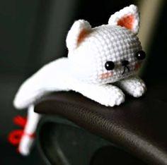 Описание принадлежит Rabbiz Design Перевела Варвара Иванова (VI) Для dropping cat нам понадобится: 1) любая пряжа, какая... Crochet Cross, Love Crochet, Knit Crochet, Amigurumi Patterns, Crochet Patterns, Crochet Projects, Sewing Projects, Crochet Patron, Creation Couture