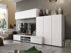 Modern Natural Wall Storage System with Cabinets and 2 Drawer TV Unit - See more at: https://www.trendy-products.co.uk/product.php/8475/modern_natural_wall_storage_system_with_cabinets_and_2_drawer_tv_unit#sthash.hmGrnpVm.dpuf