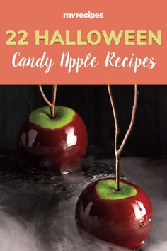 From Snow White to Twilight, the apple is an undeniable symbol of enchantment, magic, knowledge, and mystery. No wonder Halloween candy apples are a classic favorite at fall festivals, trick-or-treats, trunk-or-treats, and any Halloween Party#halloween #halloweenrecipes #myrecipes