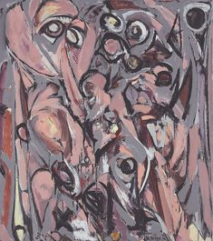 Lee Krasner (American, 1908-1984), Embrace, 1956. Oil on canvas, 64 x 57 in.