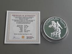 Excited to share the latest addition to my #etsy shop: 1994 coin,Foreign currency,International coins,Investment coins,Numismatic coins,Old coin collection,925 silver coin,Vintage coin of Armenia https://etsy.me/2GVc8A5 #vintage #collectibles #silver #1994coin #foreign