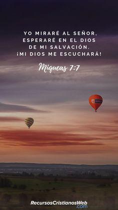 #VersiculosBiblicos #VersiculosdelaBiblia Mas yo a Jehová miraré, esperaré al Dios de mi salvación; el Dios mío me oirá (Miqueas 7:7). #TextosBiblicos #CitasBiblicas #ImagenesCristianas #FrasesCristianas #PalabradeDios #Fe #Jesus #Biblia #Dios #Cristo #Esperanza