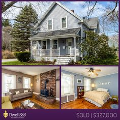 John Lynch and Edward Johnston listed and sold this charming farmhouse in Mansfield! #sold #realestate #Mansfield #Dwell360