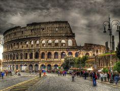 Las nuevas siete maravillas del mundo Coliseo Romano Italia.