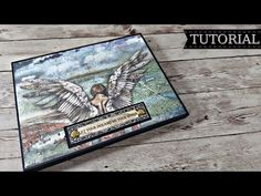 "Folio mini album ""Sir Vagabond"" Tutorial Marina Manioti - YouTube Diy Mini Album, Mini Album Tutorial, Mini Albums, Cool Diy Projects, Craft Projects, Projects To Try, Mini Books, Hobbies And Crafts, Card Making"