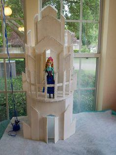 Disney Frozen Birthday Party Ideas. Elsa's Ice Castle  www.Facebook.com/ZoleesBoutique