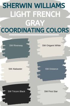 Sherwin Williams Light French Gray SW 0055 -The Perfect Gray? - West Magnolia Charm - - Sherwin Williams Light French Gray SW 0055 Is an amazing neutral gray paint color. that works well for the interior and exterior of your home.