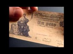 Old Banknote From Argentina