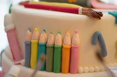 La Douce Belle: Aniversário da Sarah - Aquarela