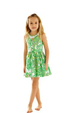 The Claude Dress is the perfect girls dress for a special occasion. So many events happen in the spring and a girl needs a few dresses to get her through. We think your little will love this one!