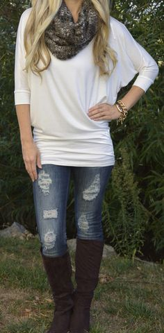 Gentle Nora Top....Love this! #sexymodestboutique