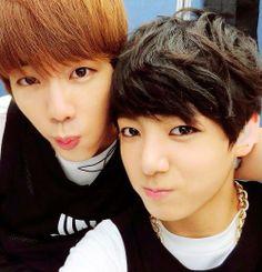 Jungkook & JIN♡ #BTS #JIN #JungKook