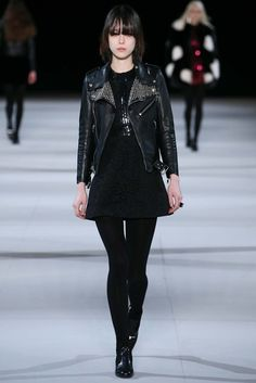 7ae2a636c179 Saint Laurent Fall 2014 Ready-to-Wear Fashion Show