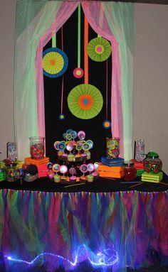 Colorful tulle skirt Neon Party wedding por PoppysmicBowtique