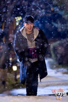 Hyde jekyll me - Robin in the snow :) Hyun Bin, Drama Korea, Korean Drama, Asian Actors, Korean Actors, Hyde Jekyll Me, Joo Won, Hallyu Star, Kdrama Actors