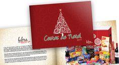 Projeto de criação do Catálogo e ilustrações das embalagens das Cestas de Natal Fibra Alimentos.