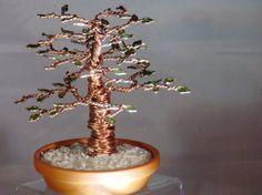 Twisted Copper Bonsai Tree by BonsaiTreesToGo on Etsy, $20.00