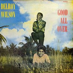 bad album cover DELROY WILSON,