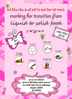 Tips for memorable annaprashan ceremony: baby's first solid feeding ceremony