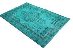 ... forward by boo vloerkleed patchwork turquoise yvonne bracke vloerkleed