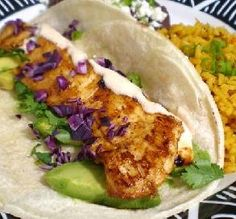 """Baja Chipotle Fish Tacos: """"We absolutely loved these fish tacos. I appreciated the fact that they weren't deep-fried or full of fat!"""" -LifeIsGood"""