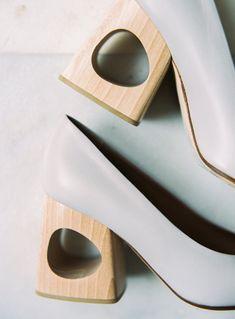 A Modern Fall Wedding with Minimalistic Style - Once Wed Fresh Beginnings, Wedding Shoes, Wedding Stuff, Once Wed, Fall Wedding, Engagement Photos, Peep Toe, Minimalist, Style Inspiration
