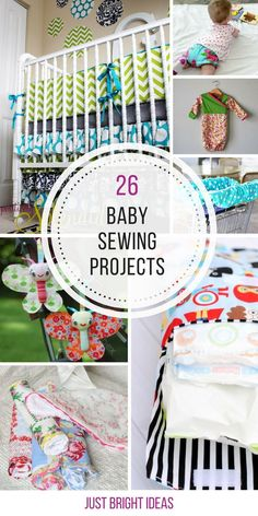These baby sewing projects are so easy! Thanks for sharing!