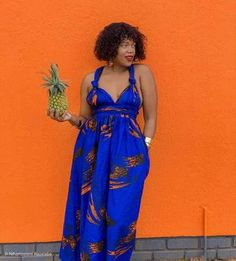 South Africa's home of modern African print fashion. African Print Dresses, African Print Fashion, Fashion Prints, Dress P, Wrap Dress, South African Traditional Dresses, Latest Ankara, Ankara Styles, Industrial Style