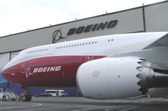 New Boeing B747-8 Intercontinental Unveiled.