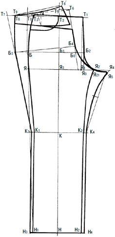 бурда моден джинсы мужские выкройки - Поиск в Google