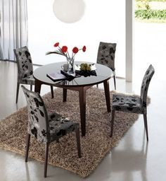 1000 images about mesas redondas on pinterest mesa On comedor redondo extensible