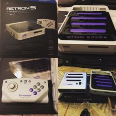 On instagram by adsantacruz #retrogames #microhobbit (o) http://ift.tt/1TJdeND meet #superretrotrio3 these two #consoles are pretty impressive as they both play   but differently. The retron5 is #android base and runs more like an emulator. Meaning that it can add filters and save your state by using either an #sdcard or the internal #memory. Lastly it uses #hdmi so it's more tailored towards modern #tvs. The Trio on the other hand uses #oldschool #compositecables and gives you more of…