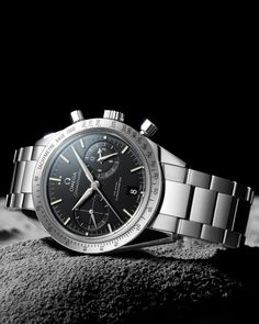 OMEGA Watches: Speedmaster Speedmaster '57 Omega Co-Axial Chronograph 41.5 mm - Steel on steel - 331.10.42.51.01.001