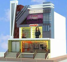 House Main Gates Design, House Front Design, Modern House Design, Cladding Design, Facade Design, House Architecture Styles, Facade Architecture, Building Elevation, House Elevation