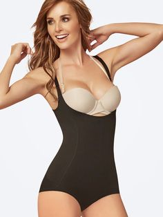Tummy, waist, back and hips, back and hips - or that's the way THIS song goes. Get full control with this ULTRA high compression hip-hugging shaping bodysuit that's perfect for almost every single outfit you can think of. Order Yours Today! Nursing Clothes, Winter Sale, Spanx, Black Bodysuit, Winter Looks, Shapewear, One Piece, My Style, Swimwear