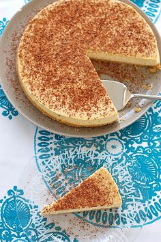 Butter Than Toast: Tiramisu Cheesecake & My 1st Blogiversary!