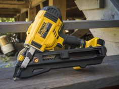 DeWalt Cordless Strap Nailer Review DCN693M1  https://www.protoolreviews.com/tools/power/cordless/nail-guns/dewalt-cordless-strap-nailer-dcn693m1/26701/