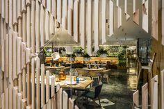 Cheese Bar at Hotel Meliá Sarriá by estudiHac designs, Barcelona – Spain » Retail Design Blog