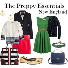 Preppy Essentials New England Preppy Outfits England Essentials Preppy Preppy Outfits, Cute Outfits, Fashion Outfits, Womens Fashion, Preppy Fashion, Preppy Wardrobe, Preppy Dresses, Classic Wardrobe, Rock Outfits