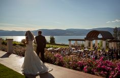 Cedarcreek Estate Winery in Kelowna is one of our top choices for wedding ceremony locations. Not only is the view from the ceremony site unreal (overlooking the surrounding vineyards and Okanagan Lake), but it also offers guests an amazing cocktail hour experience, while giving the bride and groom fantastic locations for their photoshoot without having to travel!  http://tailoredfitfilms.com/okanagan-wedding-venue-locations-dream-wedding-locations/
