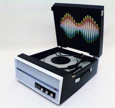 1960s Bush 'Arctic Monkeys' record player on eBay