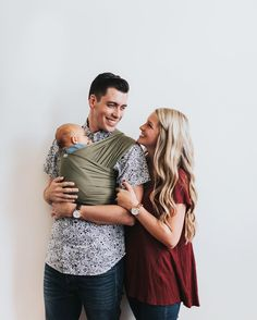 Happy Baby Wrap // Super soft, lightweight and supportive bamboo blend. $48 Happy Baby Wrap, Baby Wraps, Bamboo, Couple Photos, Couples, Fictional Characters, Couple Shots, Couple Photography, Couple