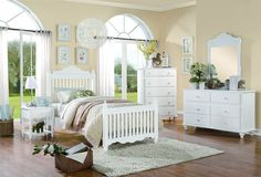 Homelegance 2019W-4 Emmaline Collection Color White